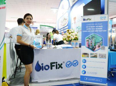 Biofix tham gia Triển lãm VietShrimp 2021